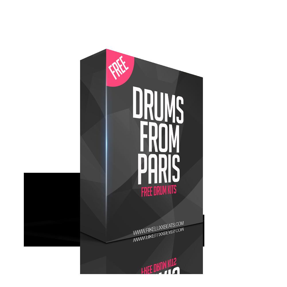 DRUM FROM PARIS - RikeLuxxBeats Exclusive Free Drumkit